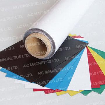 PVC Laminated Flexible Magnetic Sheeting (Sheet) (ПВХ ламинированные Гибкий магнитный брезента (лист))