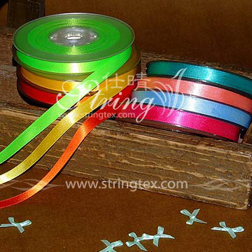 Single Faced Polyester Satin Ribbons