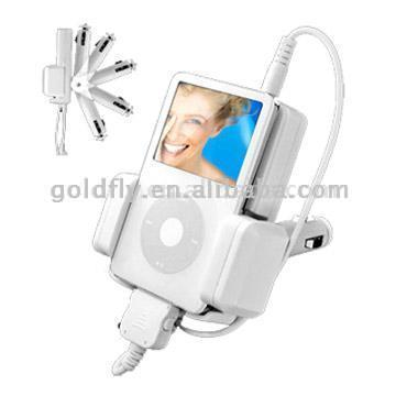 FM Transmitter and Charge for iPod (ES-1205)