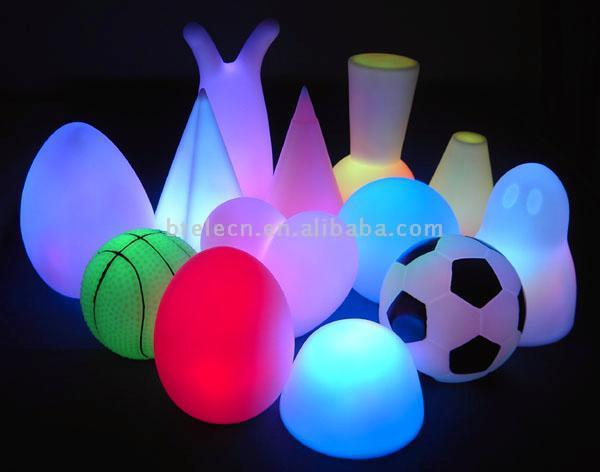 LED Flashing Heart/Star/Circle/Egg Decoration (Светодиод мигает Сердце / Star / Круг / Яйцо Украшения)