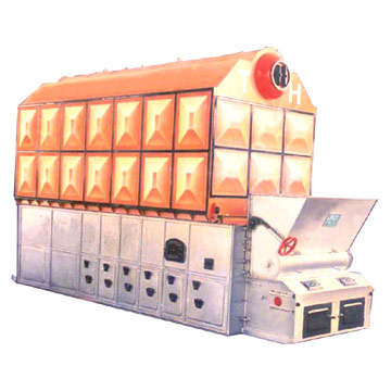 Double Drum Package Coal Fired Hot-Water Boiler