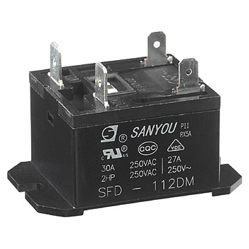 30A PC / Flange Mount Miniature Relay (30A PC / фланец Гора Миниатюрные Реле)