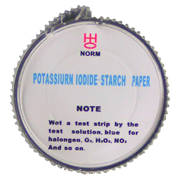 Potassium Iodide-Starch Paper (Калия иодид-крахмал бумаги)