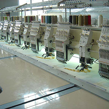 Mix Type Embroidery Machine (Mix типа вышивальная машина)