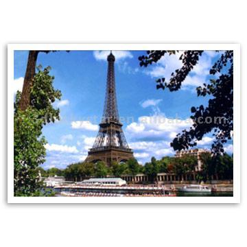 Lenticular Post Card (Чечевичным Послать открытку)
