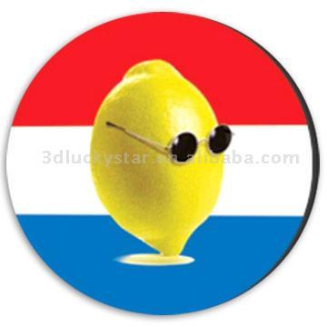 2D/3D Lenticular Cup Pad/Coaster (2D/3D чечевичным Кубок Pad / Coaster)