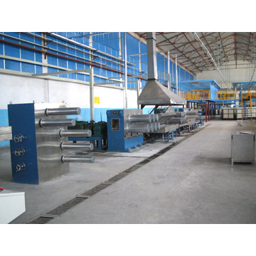 Polyester Staple Fiber Production Line (Polyester Staple Fiber Production Line)