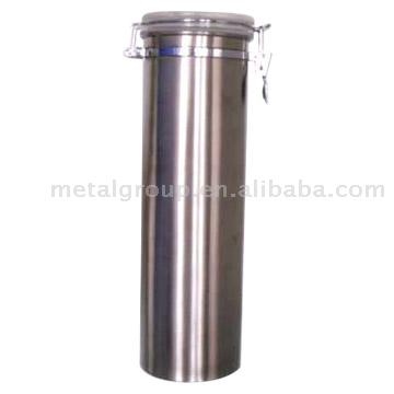 Stainless Steel Canister (Нержавеющая сталь канистра)