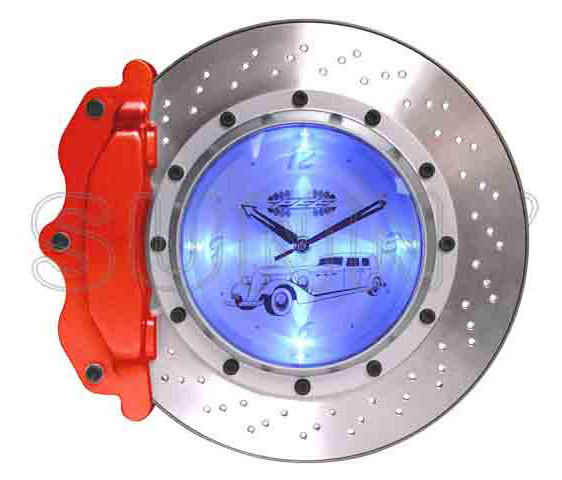 13__Brake_Disc_Wall_Clock_with_LED_Light