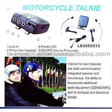 Motorcycle Intercom