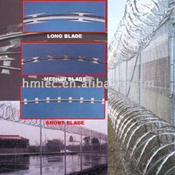 Razor Tape Barbed Wire (Бритва лента Колючая проволока)