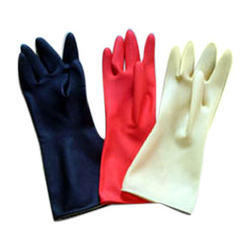 Household Latex Glove (Gants de ménage Latex)