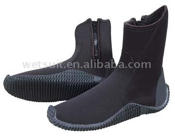 Neoprene Boots for Diving, Sailing, Surfing and More ()