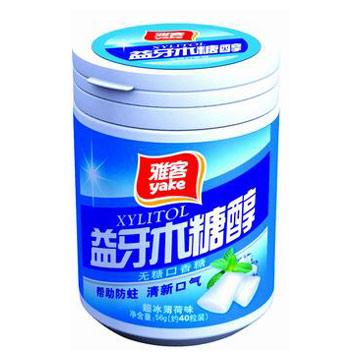 Mint Flavor Chewing Gum (Вкус мяты Жевательная резинка)