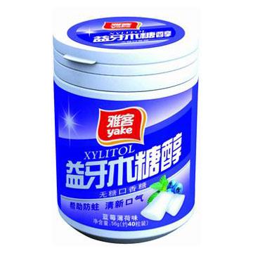 Blueberry Flavor Chewing Gum (Черника Вкус Жевательная резинка)