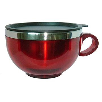 Mug (Plastic Outer and Stainless Steel Inner) (Кружка (Plastic Внешняя и Внутренняя Нержавеющая сталь))