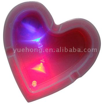LED Colorful Flash Ashtray