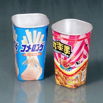 Aluminum Coated Paper Cups (Алюминиевые покрытия бумажных стаканчиков)