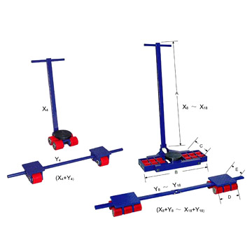Machine Moving Trolley (Машина Перемещение тележки)