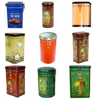 Coffee Tin Box (Кофе Tin Box)