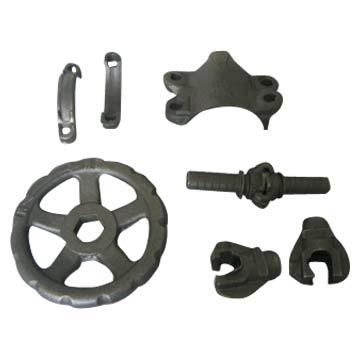Nodular Iron Parts (Часть чугуна с шаровидным графитом)