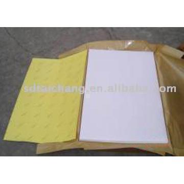 Self Adhesive High Gloss Coated Paper (Самоклеющиеся High Gloss бумага с покрытием)