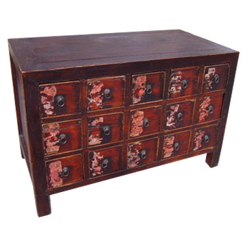 Antique Chinese Medicine Cabinet, Antique Cabinets, Chinese