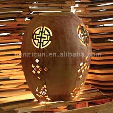 Handmade Ceramic Lamp (Лампа керамическая ручной работы)