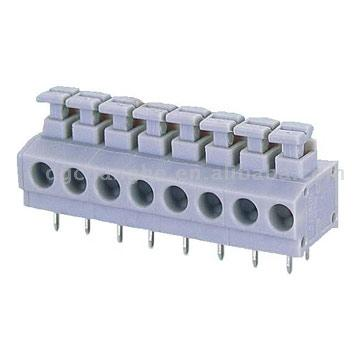 Screwless Terminal Blocks (Screwless Terminal Blocks)