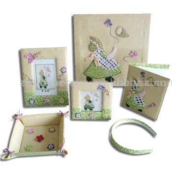 Cloth Craft Photo Frame (Tissu Craft Photo Frame)