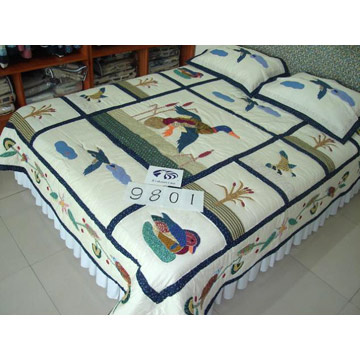 Handwork Quilt and Bedding Set