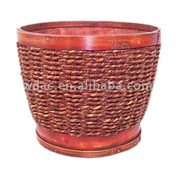 Split Wooden Pot (Сплит деревянные Pot)