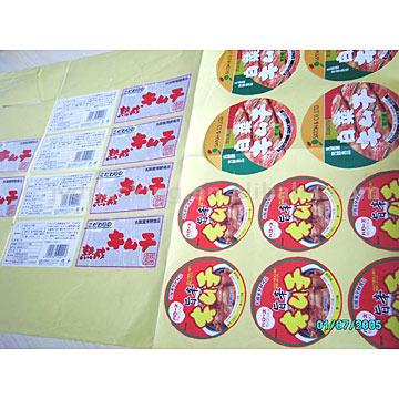 Sticker Sheets (Наклейки бюллетени)