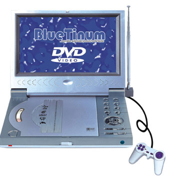 Portable DVD Player with TV Tuner and Game Function (Портативный DVD-плеер с ТВ-тюнера и функция Game)