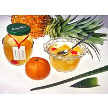 Bottled Five Kinds Of Mix Fruits (Bottled Cinq sortes de fruits Mix)