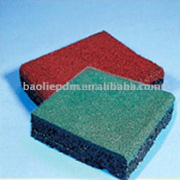 Rubber Floor Tile (Резиновая напольной плитки)