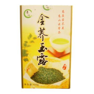 Buckwheat Blended with Green Tea (Гречневая смешивается с зеленого чая)