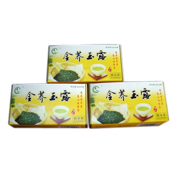 Buckwheat Blended with Green Tea