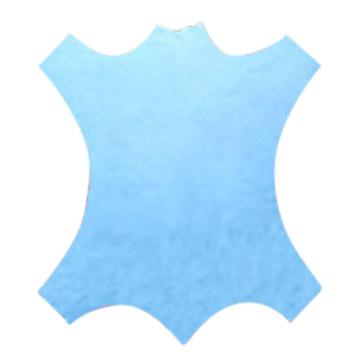 Wet Blue / White Cow Leather (Мокрый синий / белый кожа коровы)