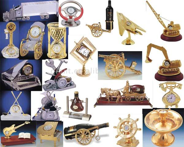 Metal Table Clock (Металл Настольные часы)