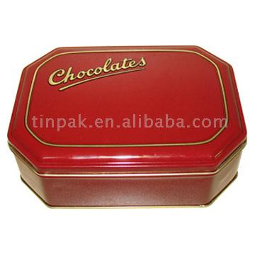 Octagon Tin Box (Octagon Tin Box)
