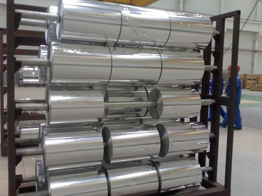 Aluminium Foil (La feuille d`aluminium)