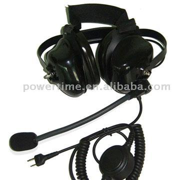 Heavy Duty Headset For Two Way Raio / Walkie Talkie (Heavy Duty Headset For Two Way Raio / Walkie Talkie)