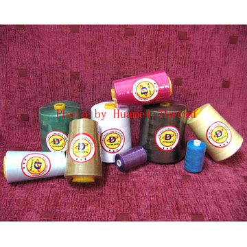 Sewing Thread with Polyester Wrapped Polyester Core (Швейные нитки полиэфирные Wrapped полиэстер Core)