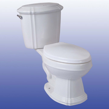 Close-Coupled Toilet (Закрыть связи Туалет)