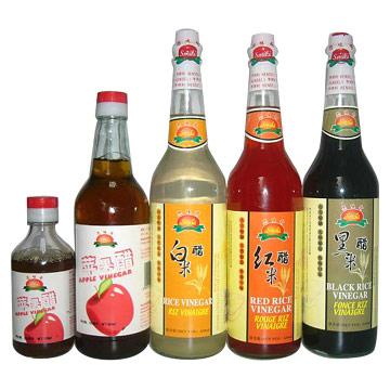 Rice Vinegar & Apple Vinegar (& Рисовый уксус Яблочный уксус)