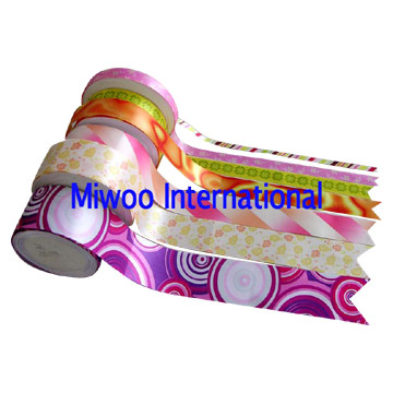 Ribbon Printed by Sublimation