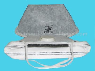 Active Carbon Valve Dust Mask (Активированный уголь клапан респиратор)
