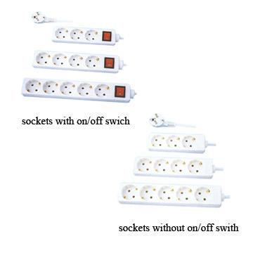 European Type Electrical Socket (Européenne électriques de type Socket)
