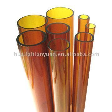 Borosilicate Colored Glass Tubing (Amber)